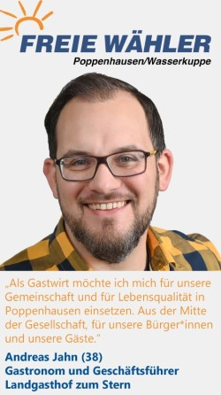 Listenkandidat Andreas Jahn