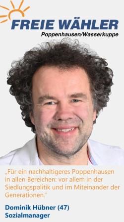 Listenkandidat Dominik Hübner
