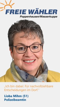 Listenkandidatin Lioba Mihm