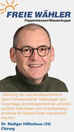Listenkandidat Rüdiger Hilfenhaus